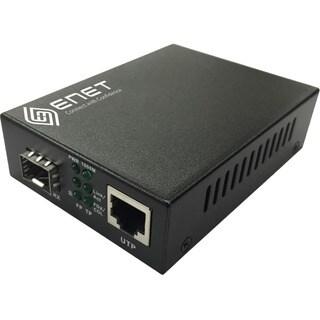 ENET 1x 10/100/1000M Copper RJ45 to 1x 1000Base-X SFP Gigabit Etherne