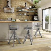 Carbon Loft Murdock Screw Metal Stool