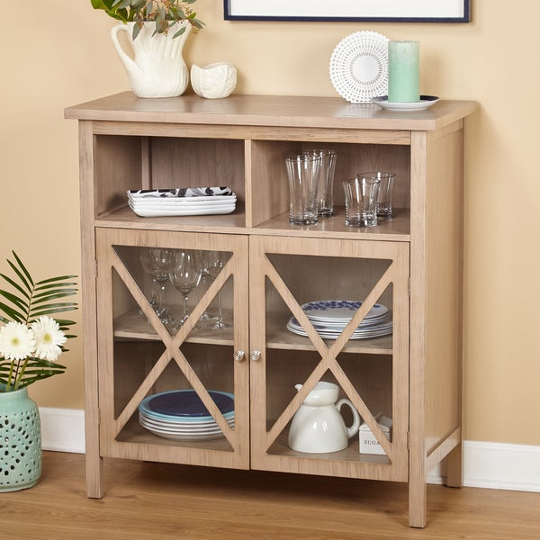 "Simple Living Silvia Cabinet - 38""h x 36""w x 16""d"