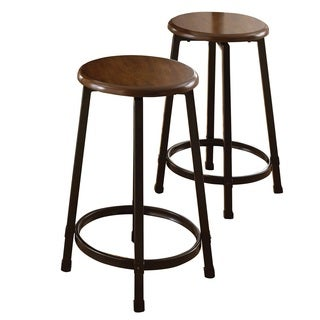 Greyson Living Whitley Backless Counter Stools (Set of 2)