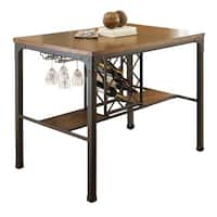 Greyson Living Whitley Counter Height Table - Brown