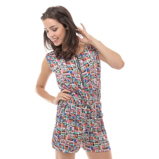 Soho Apparel Women's Sleeveless Elastic Waist Romper