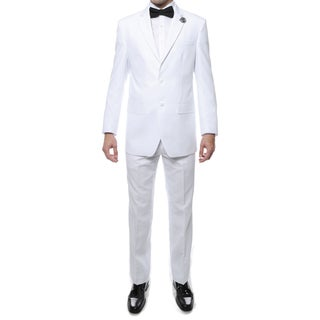 Ferrecci Men's Paul Lorenzo 2-Piece Regular Fit Suit