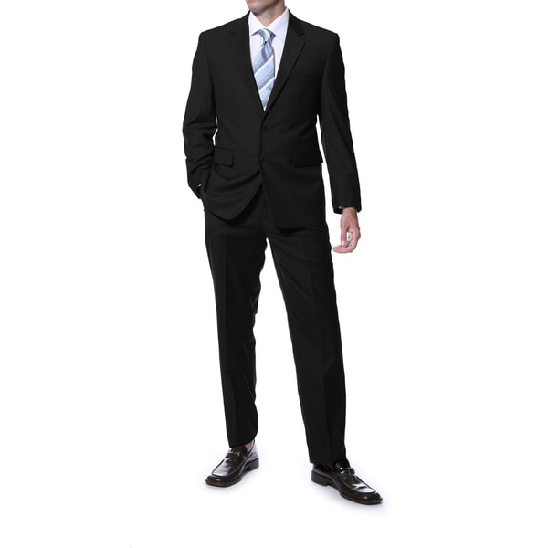 Ferrecci Mens Carlo Portly Fit 2-Piece Suit