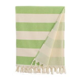 Authentic Cabana Stripe Pestemal Fouta Original Turkish Cotton Bath/Beach Towel