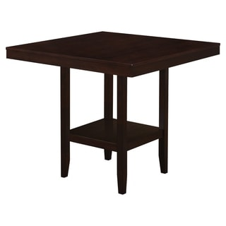 "Dining Table-42"" x 42""/ Cappuccino Counter Height"