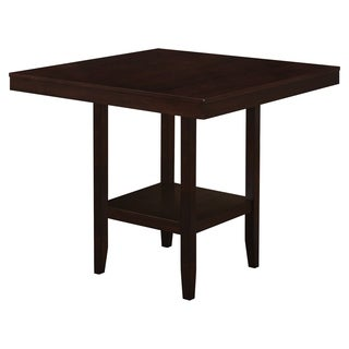 Dining Table-42 x 42/ Cappuccino Counter Height