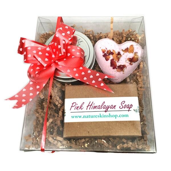 Handmade Lover's Bath Gift Set. Opens flyout.
