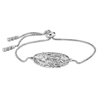 Sterling Silverplated Adjustable Bracelet