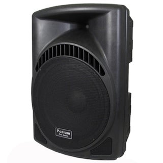 Podium Pro PP1504CD DJ PA Karaoke 900W Active Powered 15-inch Speaker with Flash Drive