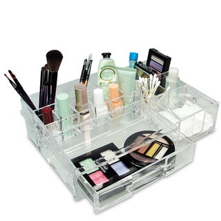Link to Luxury Cosmetic Makeup Acrylic Organizer - Clear Similar Items in Makeup Brushes & Cases