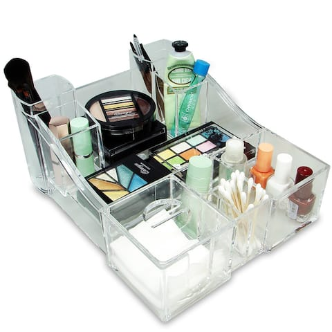 Luxury Cosmetic Make Up Organizer - Clear