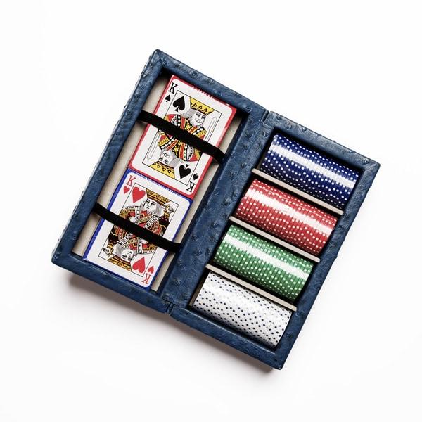 Ostrich Style Poker Set