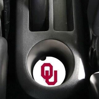 Oklahoma Sooners Absorbent Stone Car Coaster (Set of 2)