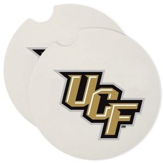 Central Florida Knights Absorbent Stone Car Coaster (Set of 2)