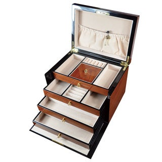 Ikee Design Wood Jewelry Box