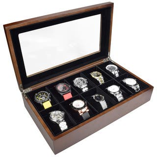 Ikee Design Wooden Watch Box For 10 Watches|https://ak1.ostkcdn.com/images/products/11158081/P18154321.jpg?impolicy=medium