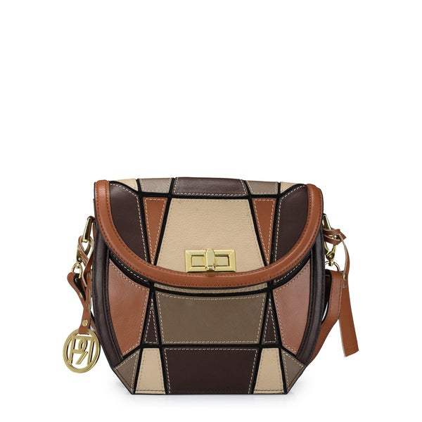 Handmade Phive Rivers Women's Crossbody Bag (Tan) (PR1043) (Italy) - One size