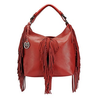 Handmade Phive Rivers Women's Hobo Bag (Red) (PR1069) - One size (Italy)