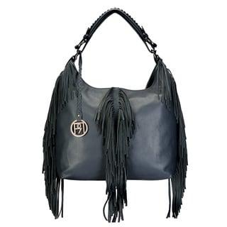 Handmade Phive Rivers Women's Hobo Bag (Navy) (PR1070)