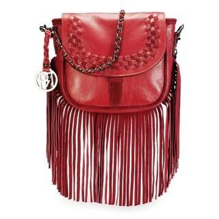 Handmade Phive Rivers Women's Crossbody Bag (Red) (PR1073)