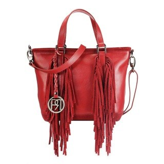 Handmade Phive Rivers Women's Handbag (Red) (PR1076) (Italy) - One size