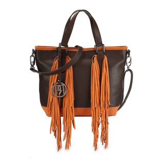 Phive Rivers Women's Handbag (Brown) (PR1077)