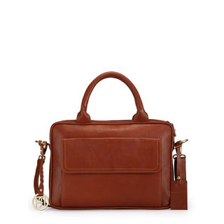 Phive Rivers Women's Laptop Bag (Tan) (PR1037)