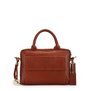 Handmade Phive Rivers Women's Laptop Bag (Tan) (PR1037) - One size