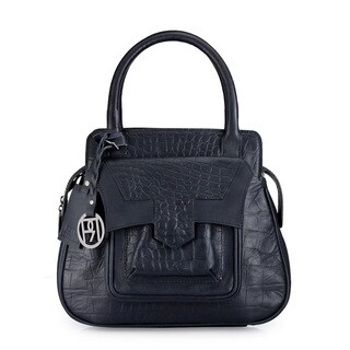 Phive Rivers Women's Satchel Bag (Navy) (PR1044)