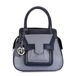 Handmade Phive Rivers Women's Satchel Bag (Grey) (PR1045) - One size