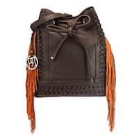 Handmade Phive Rivers Women's Shoulder Bag (Brown) (PR1075) (Italy) - One size