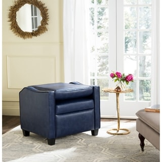 Safavieh Holden Eucalyptus Navy Recliner Chair
