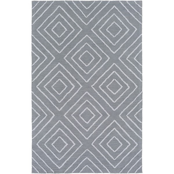 Hand Hooked Gower Cotton/Viscose Area Rug - 3' x 5'