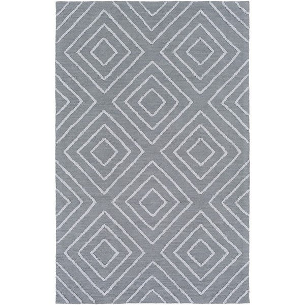 Hand Hooked Gower Cotton/Viscose Area Rug (3' x 5')