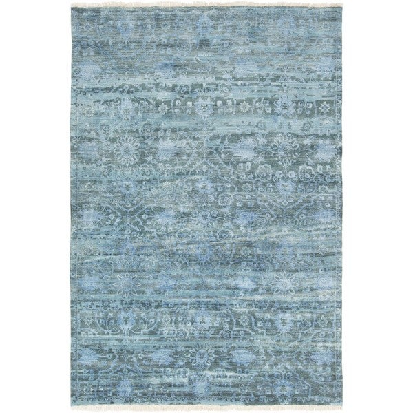 Hand Knotted Fowler Wool Area Rug (3'6 x 5'6)