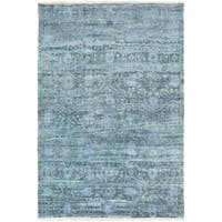 """Hand Knotted Fowler Wool Area Rug - 3'6"""" x 5'6"""""""