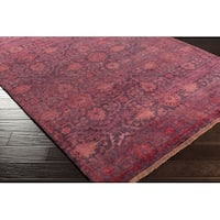 "Hand Knotted Goodyear Wool Area Rug - 3'6"" x 5'6"""