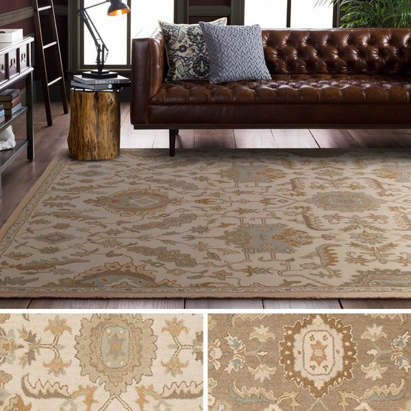 Hand Tufted Fosse Wool Area Rug (4' x 6')