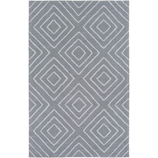 Hand Hooked Gower Cotton/Viscose Rug (4' x 6')