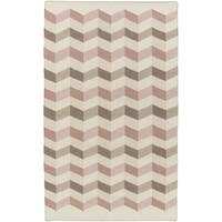Hand Woven Foothill Wool Area Rug - 5' x 8'