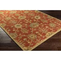 Hand Tufted Foster Wool Area Rug - 5' x 8'