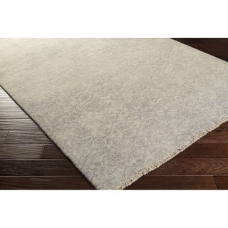 Hand Knotted Franc New Zealand Wool Rug (5'6 x 8'6)