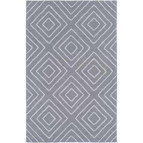 Porch & Den Lewis & Clark Hand-hooked Cotton/Viscose Area Rug