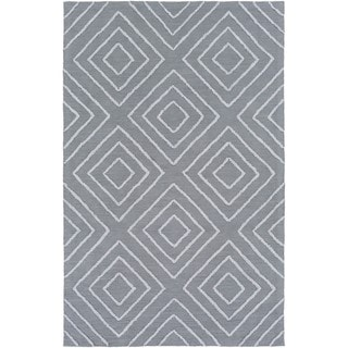 Hand Hooked Gower Cotton/Viscose Rug (6' x 9')