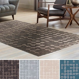 Hand Hooked Graben Cotton/Viscose Area Rug - 6' x 9'