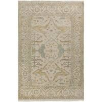 Hand Knotted Flatiron New Zealand Wool Area Rug (7'9 x 9'9)