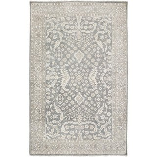 Hand Knotted Forbes Wool Rug (7'9 x 9'9)