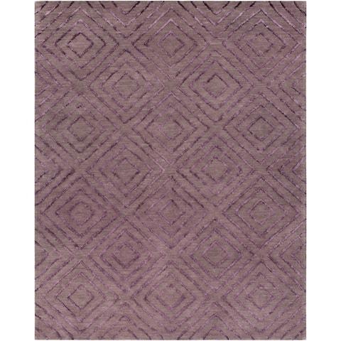 Porch & Den Lewis & Clark Hand-hooked Cotton/Viscose Area Rug