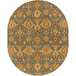 Hand Tufted Forsyth Wool Rug (8' x 10' Oval)